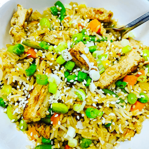Chick'un Veggie Fried Rice