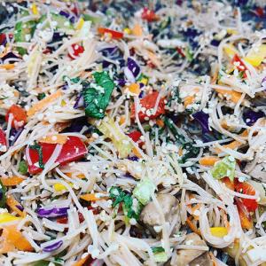 Salad Tofu Noodle