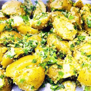 Salad Garlic Potato